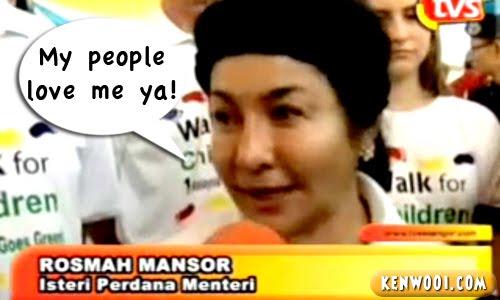 rosmah interviewed
