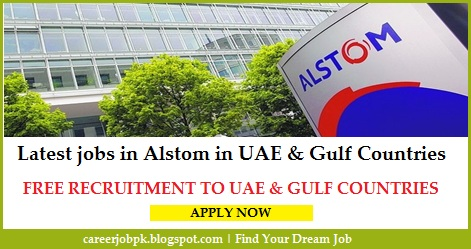 Latest jobs in Alstom In UAE & Gulf Countries
