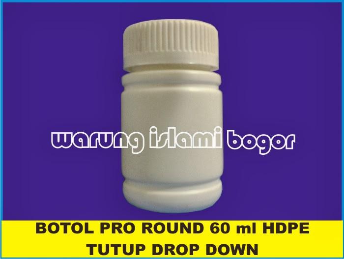 Jual Botol Kapsul Tutup Drop Down Tekan Putar