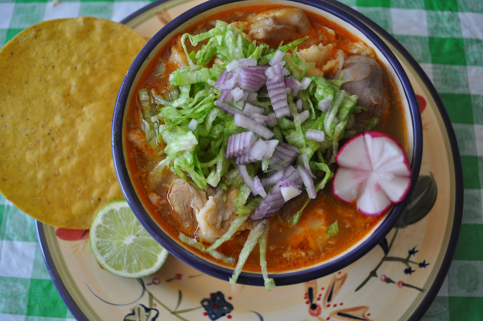 As with most Mexican dishes, you can make this soup more or less spicy ...