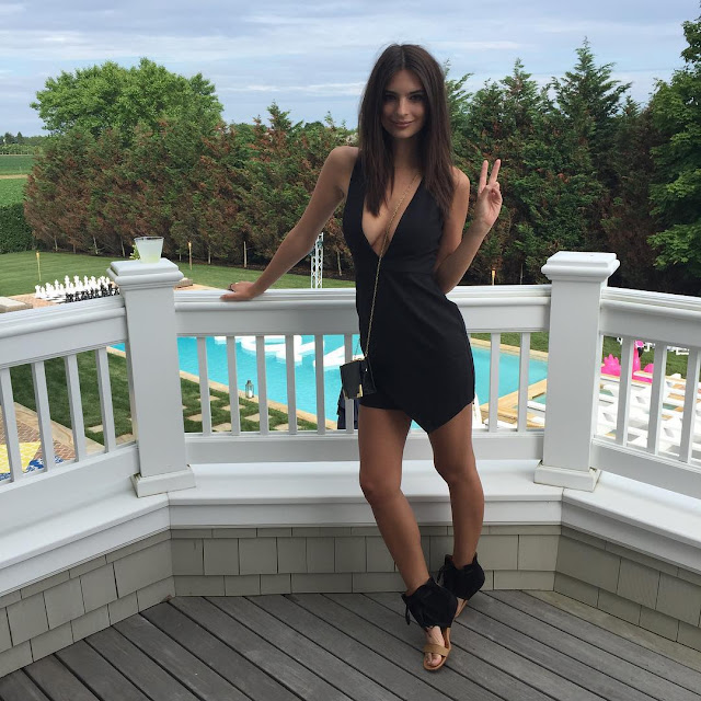 Fashion Model, Actress @ Emily Ratajkowski - REVOLVE Hamptons Kick-Off Party