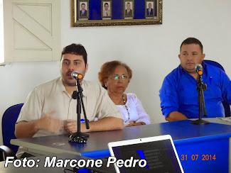 Ontem 31 foi realizado na Câmara Municipal de Senador Georgino Avelino um Seminário de Proteção Amb
