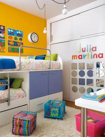 Decoraci n de interiores dormir estudiar y jugar for Estudiar decoracion de interiores a distancia