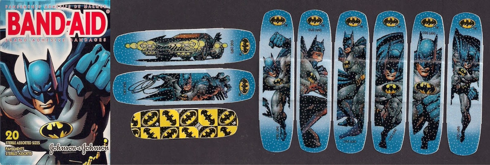 Band Aid Collection Batman