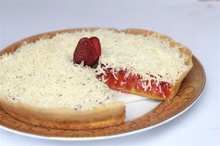 Martabak Orins Strawberry Keju