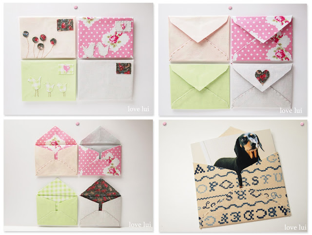 fabric envelope PDF pattern lovelui