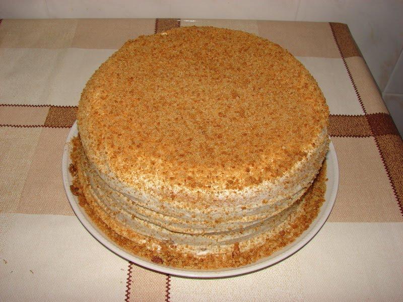 Сметанный торты рецепты простые в домашних условиях с фото