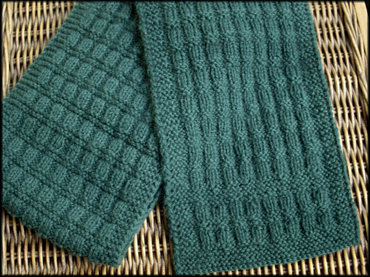 Knitting Machine Scarf Pattern : Wyndlestraw Designs: Two strands held together...