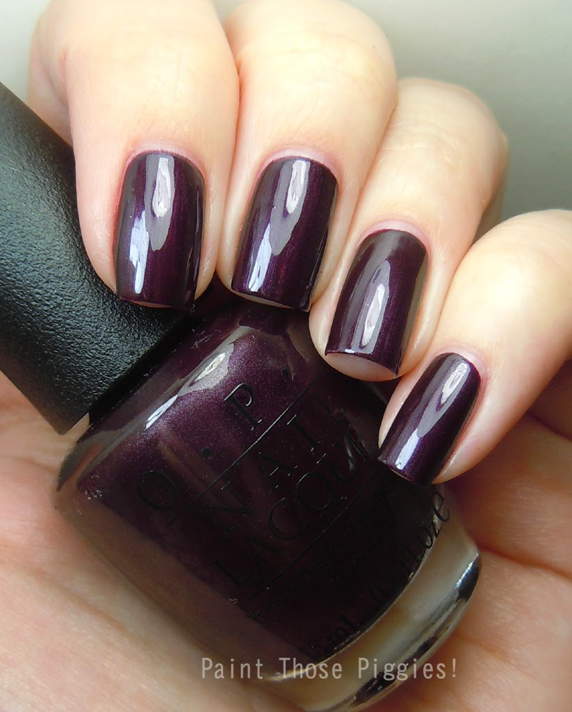 Paint Those Piggies!: OPI Swatch Spam!