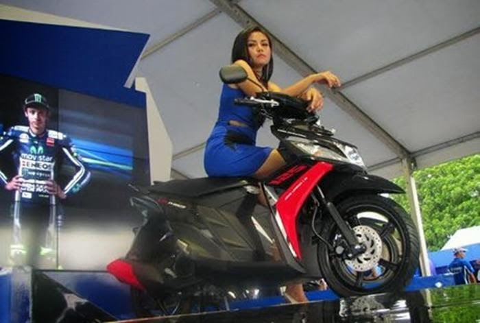 Yamaha Mio M3 Blue Core 2014 Indonesia