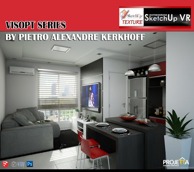 vray for sketchup visopt interior #12