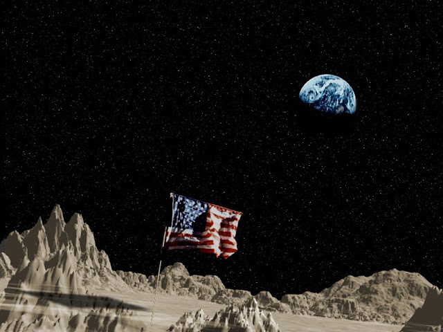 Russian Official Wants To Investigate Whether U.S. Moon Landings Actually Happened