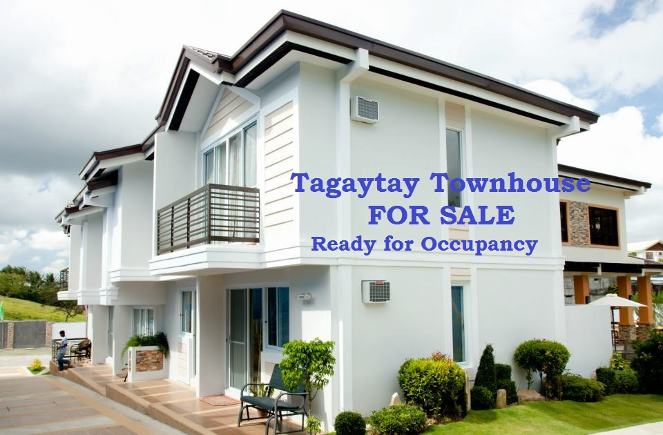 TAGAYTAY TOWNHOUSE FOR SALE - RFO