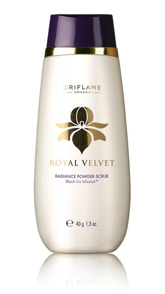 Esfoliante Facial em Pó Radiance Royal Velvet da Oriflame