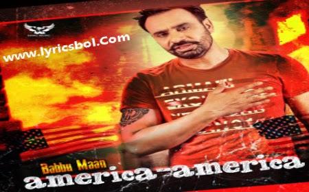 America America Lyrics - Babbu Maan