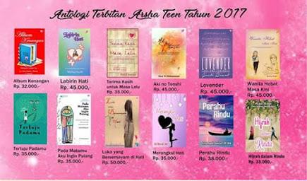 Antologi Terbitan Arsha Teen Tahun 2017