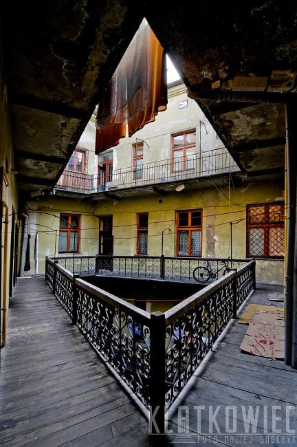 Kraków: wewnętrzny dziedziniec
