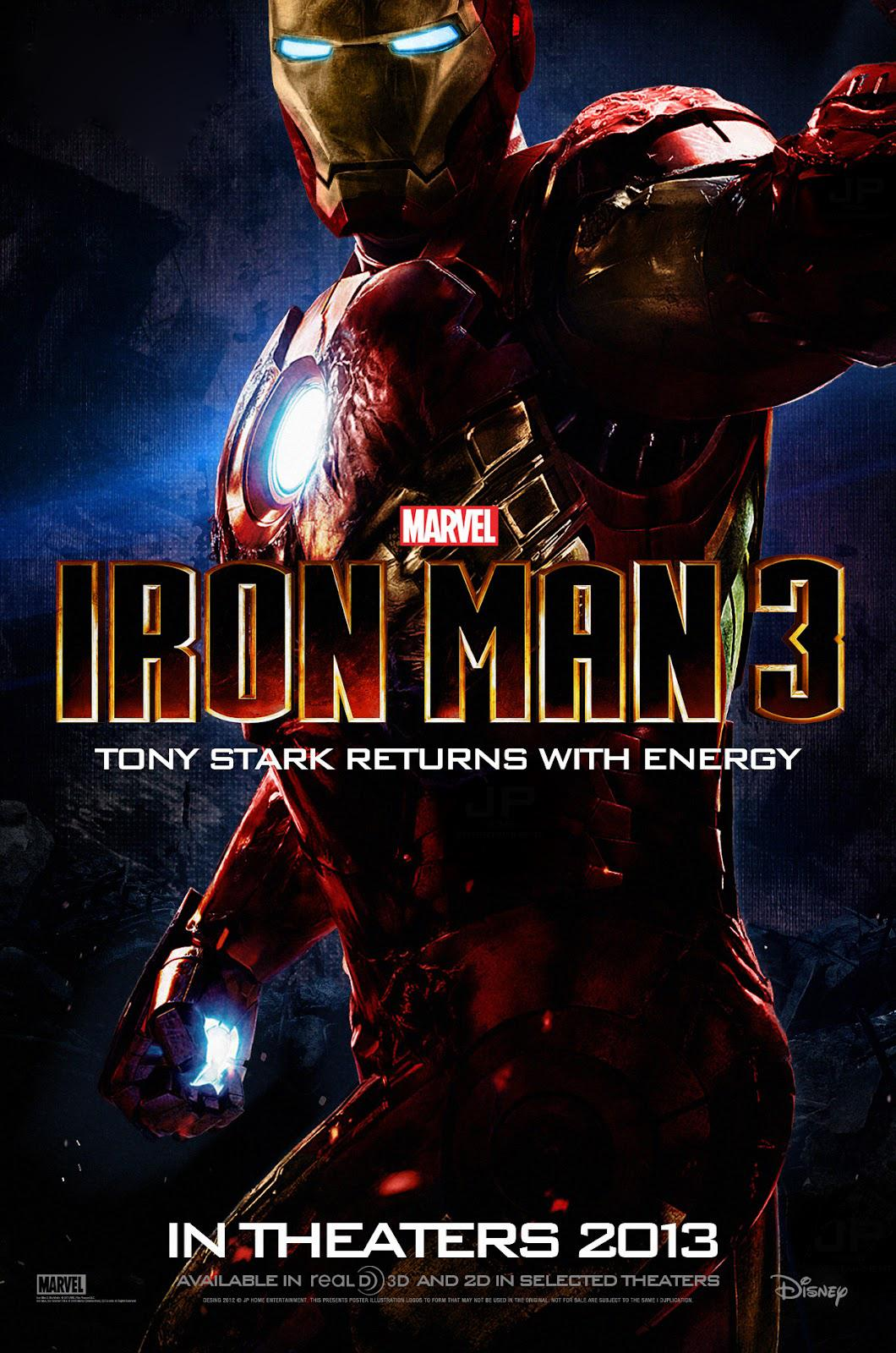 World Of Free Movies: Iron Man 3 (2013) Dual Audio Hindi Dubbed ...