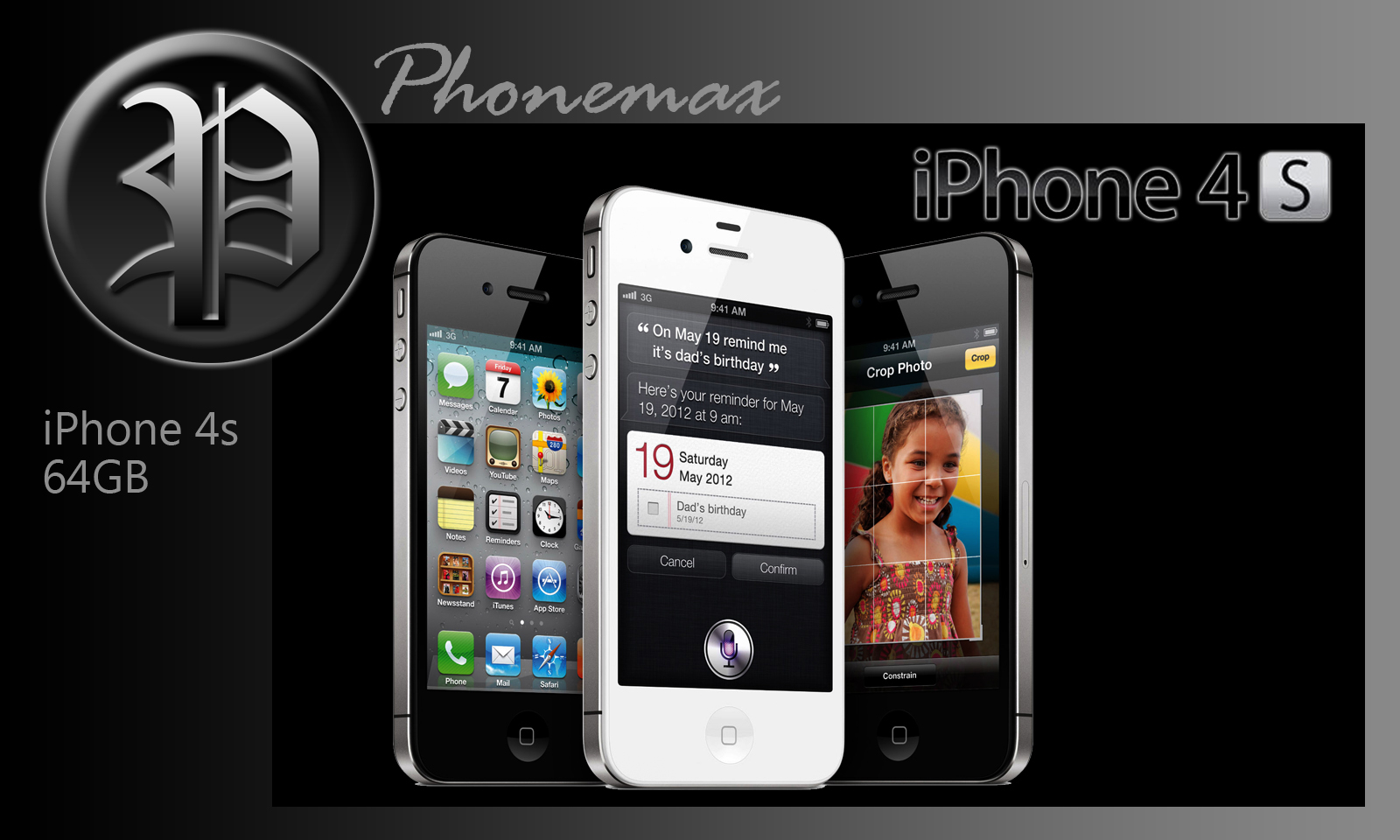 PHONEMAX MOBILE AND ACCESSORIES: Apple iphone 4s 64GB RM2890