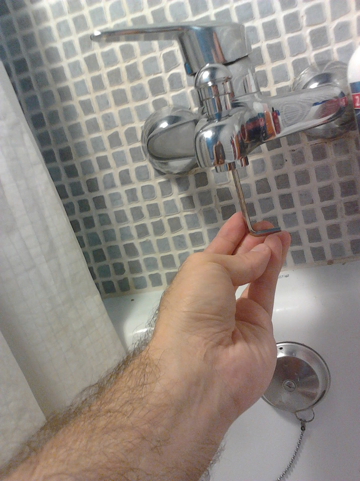 El manitas for Partes de una llave de ducha