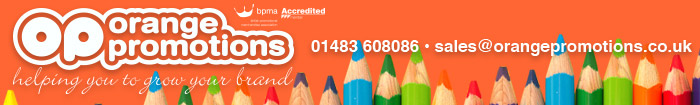 Orange Promotions - Promotional Gifts, Corporate Clothing & Branded Solutions