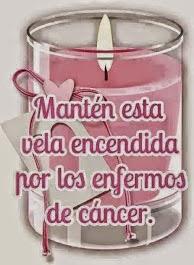 por todos los enfermos de cáncer