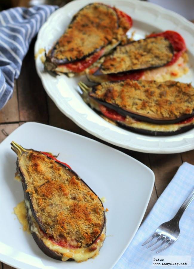Emparedados de berenjenas gratinadas y salm n ahumado cocina - Lazy blog cocina ...
