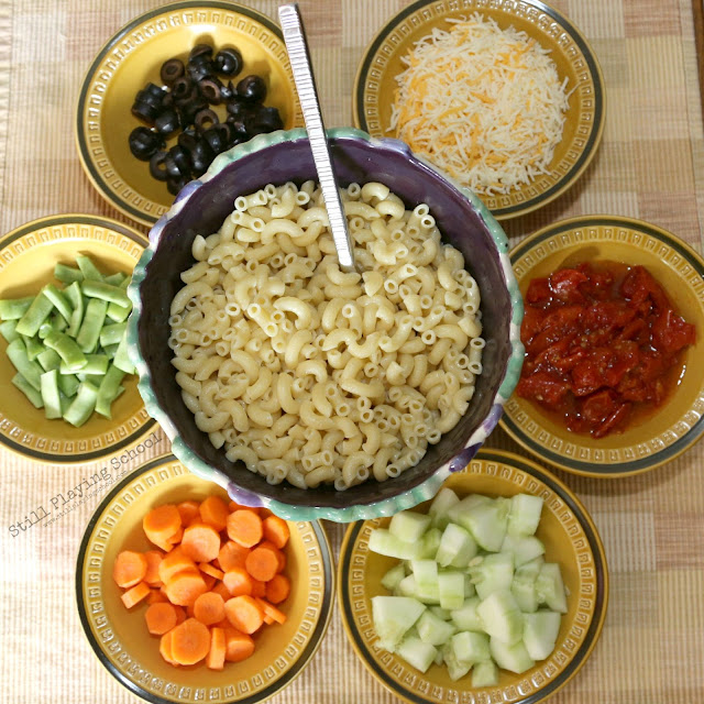Make Your Own Pasta Salad Bar