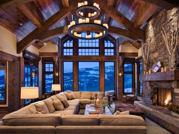 World of architecture 30 rustic chalet interior design ideas for French chalet house plans