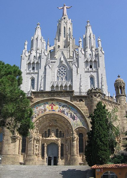 Sagrat Cor (Templo Expiatorio del Sagrado Corazo)- Barcelona, Catalonia |Travel Spain Guide