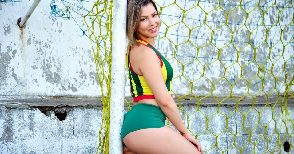 Jéssica Farias a Bela do Sampaio Corrêa Futebol Clube