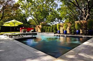 kolam+renang+modern Kombinasi Warna Interior Untuk Rumah Modern