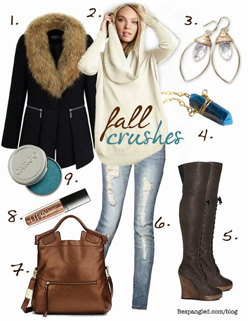 Fall fashion crushes // Bespangled Jewelry