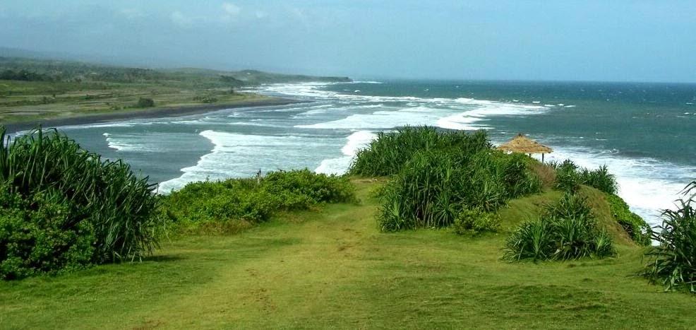 Pantai Puncak Guha Yang Eksotis Di Garut Selatan