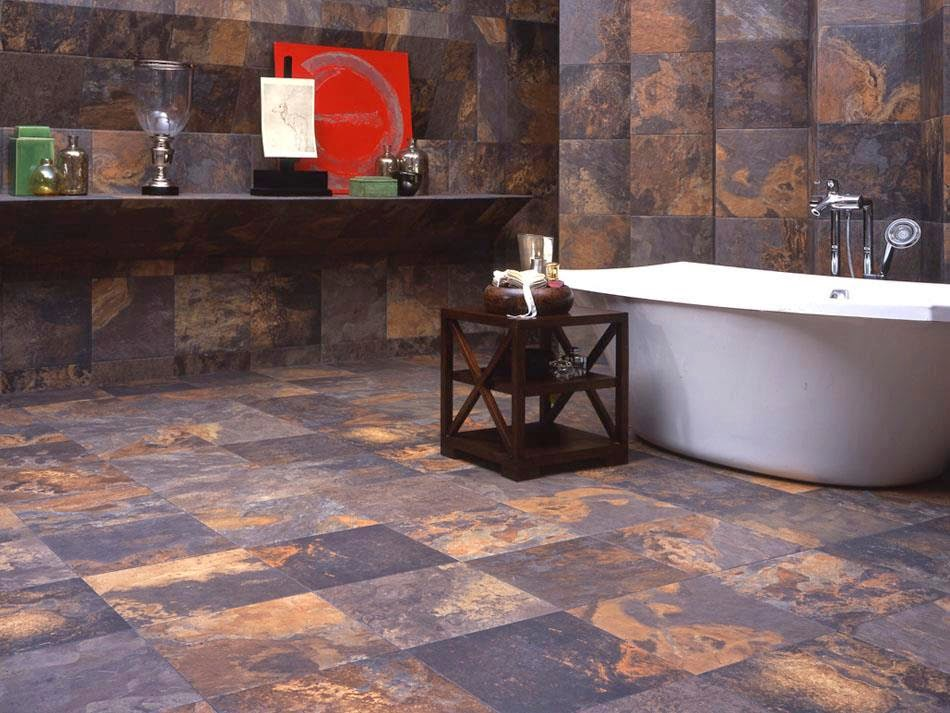 Baño Rustico Moderno:baño rustico y moderno