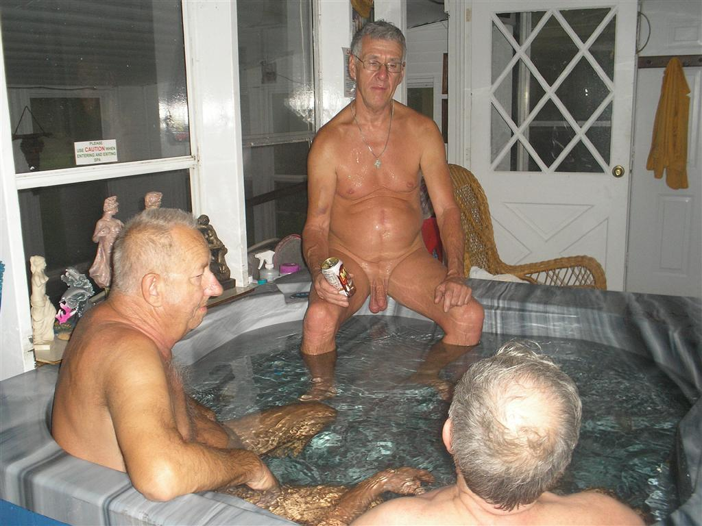 Velhos Homens Gostosos Nus