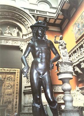 Escultura David de Bronze