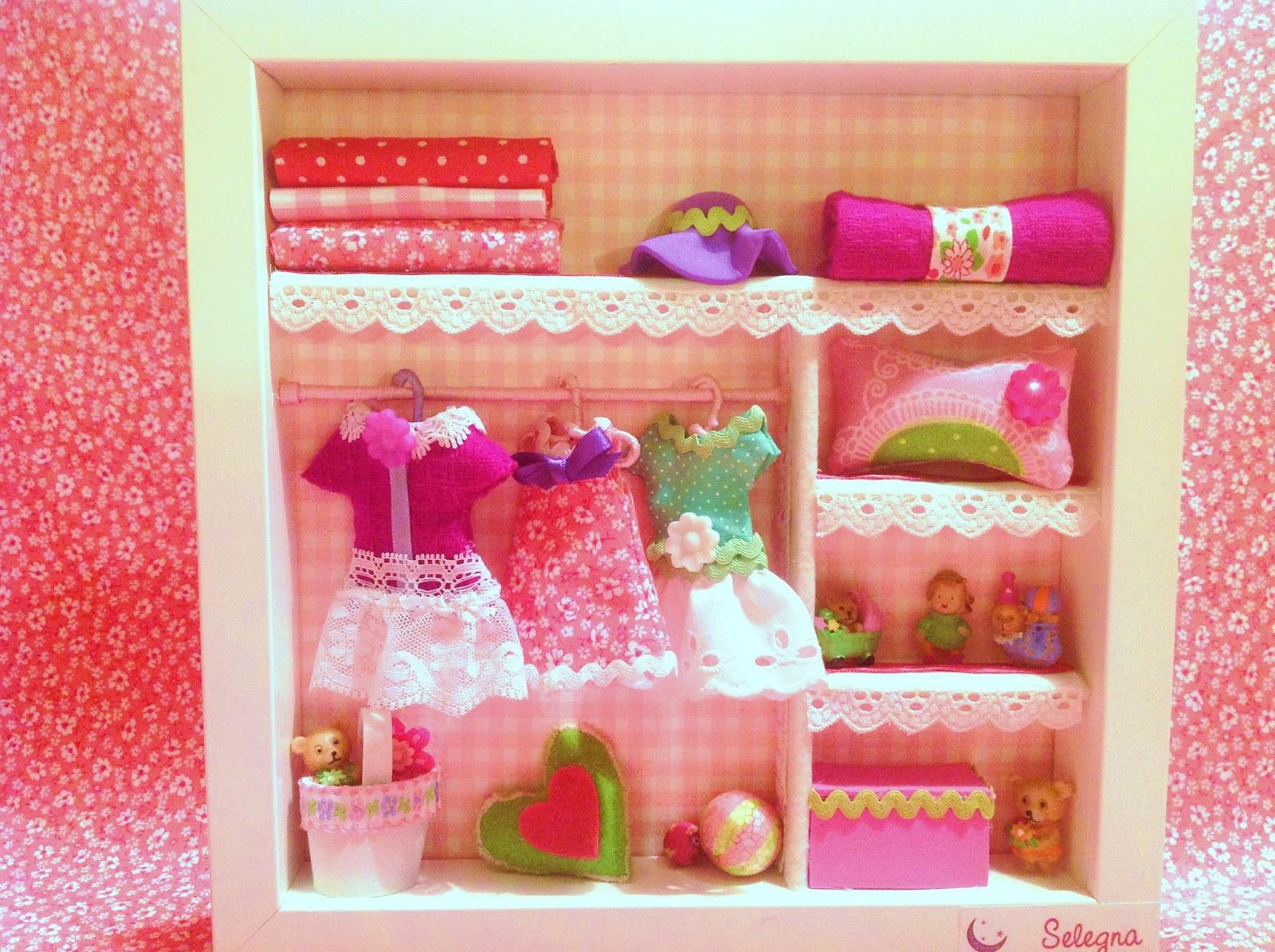 El ba l de selegna escena en miniatura armario de ni a - Armarios para ninas ...