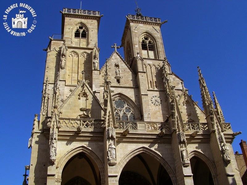 SEMUR-EN-AUXOIS (21) - Collégiale Notre-Dame