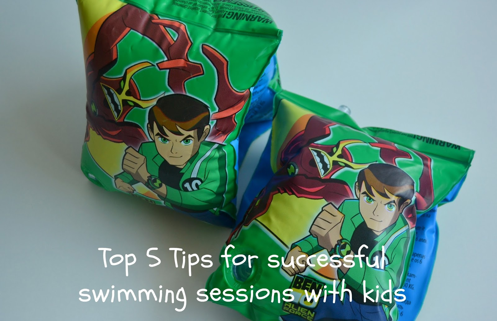 Top 5 tips for sucessful swimming sessions with kids