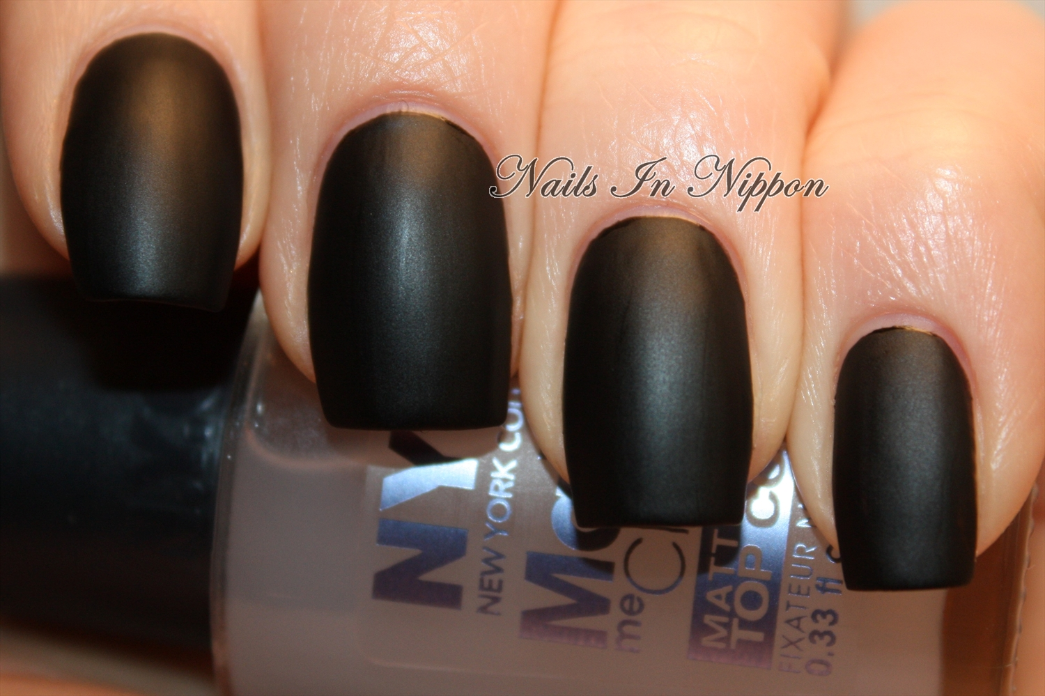 Nails In Nippon: NYC Matte Me Crazy Top Coat
