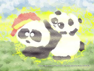Gambar Abstrak - 5 - Panda