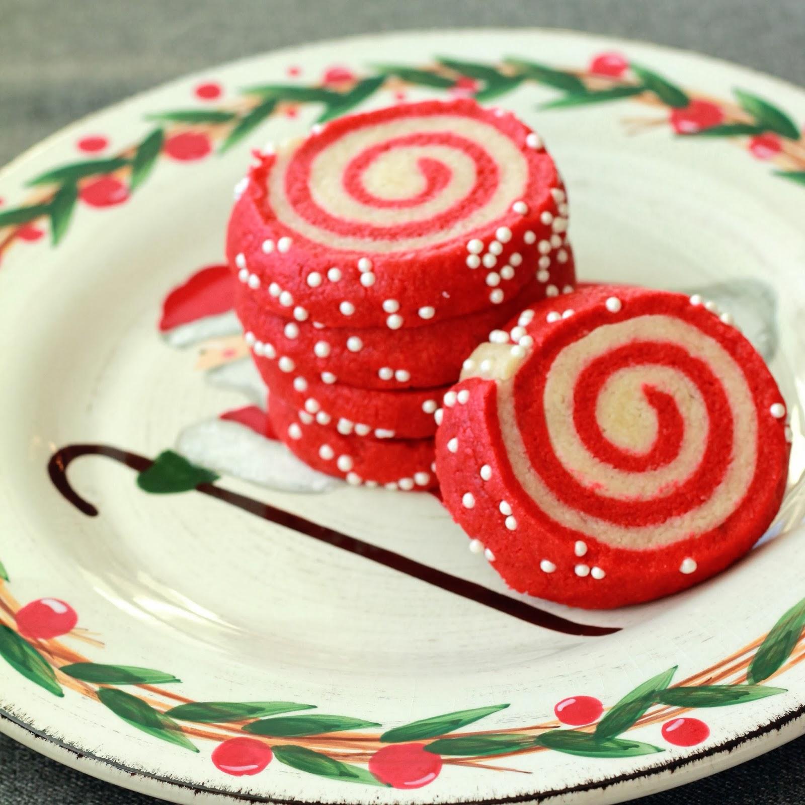 Celebrating Happy Christmas Pinwheel Cookies