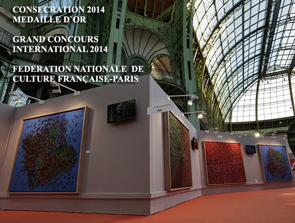 Installation au Grand Palais, Paris 2012