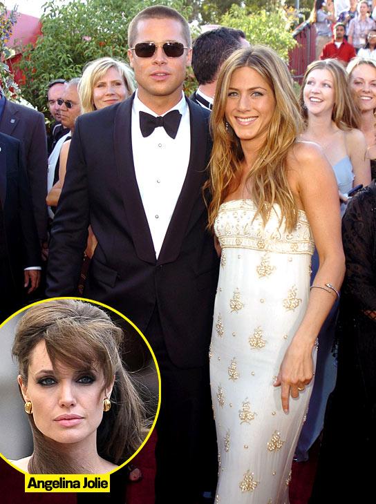 jennifer aniston wedding dress brad. Brad Pitt amp; Jennifer Aniston