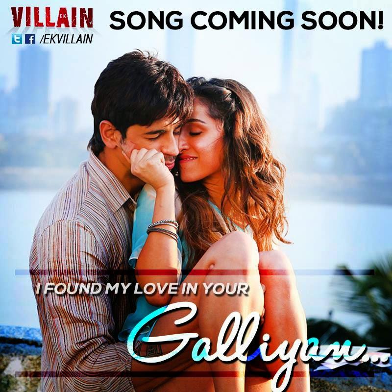 Galiyaan Teri Galliyan Lyrics English Meaning Ek Villain Movie