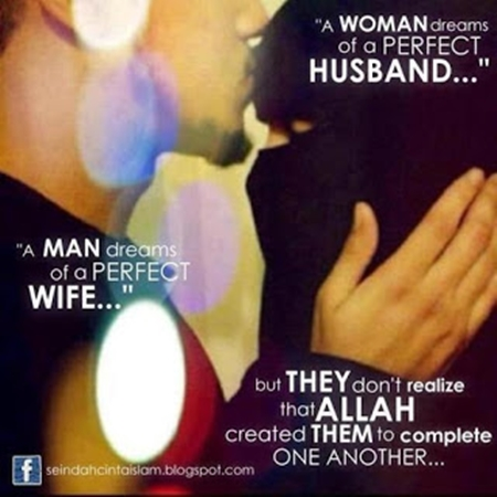 Muslim Husband Wife Quotes and Sayings