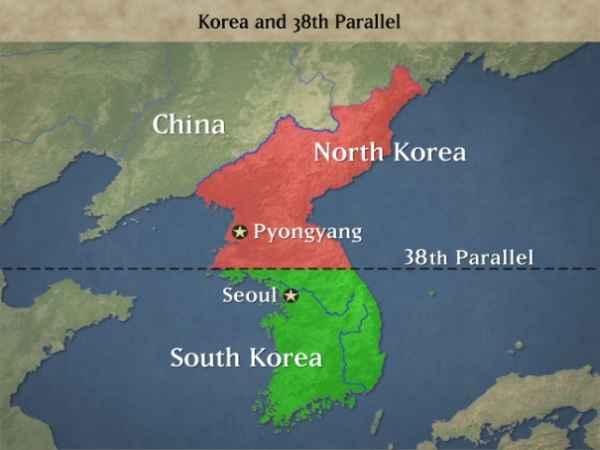 Perang Korea Utara-China VS Korea Selatan-Amerika