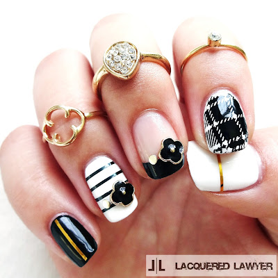 Monochromatic Nail Art