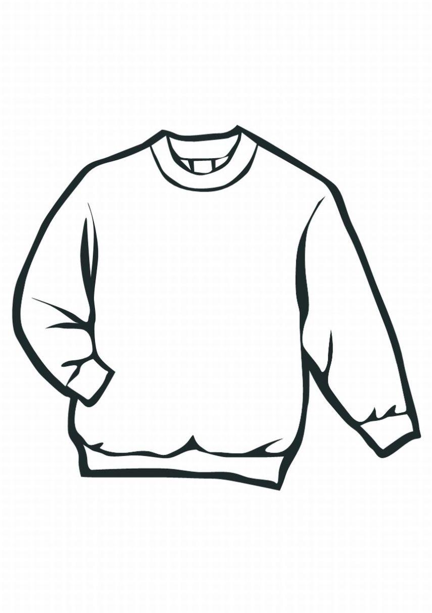 COLOREA TUS DIBUJOS: Suéter para colorear